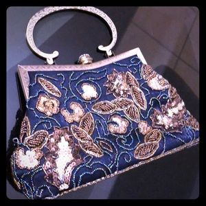 Handbags - Beautiful beaded purse made in Spain for New Year